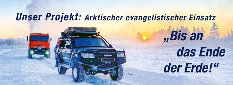 Arktischer evangelistischer Einsatz