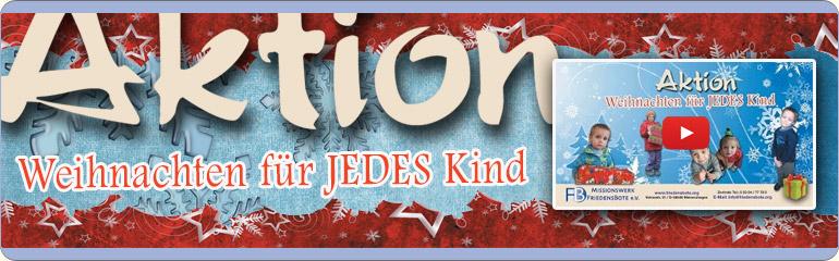 Weihnachten für JEDES Kind