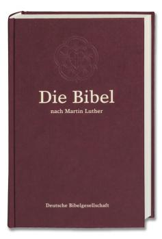 Luther 84 Standard ohne Apokryphen burgunderrot