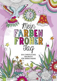 Mein farbenfroher Tag - Ausmalbuch