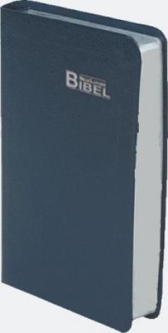 Lutherbibel Silberschnitt - blau