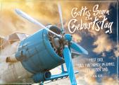 Postkarte 'Gottes Segen zum Geburtstag'