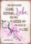 Postkarte 'Liebe / Schlüssel'