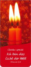 Magnetlesezeichen - 'Christus spricht: Ich bin das Licht der Welt'