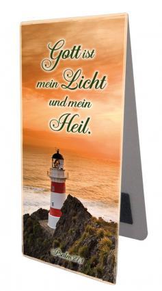 Magnetlesezeichen - Gott ist mein Licht