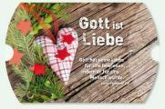 Geschenkschachtel 'Gott ist Liebe' - ohne Inhalt