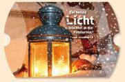 Geschenkschachtel 'Ein helles Licht' - ohne Inhalt