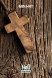 NeÜ Bibel.heute - Mini-NT  - Holzkreuz