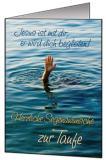 Faltkarten Taufe, 5 Stück