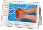 Faltkarten Taufe