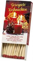 Zündholzbox - Gesegnete Weihnachten