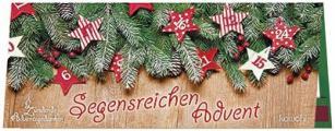 Streichholz-Adventskalender 'Segensreichen Advent'