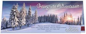 Streichholz-Adventskalender 'Gesegnete Adventszeit'