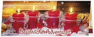 Streichholz-Adventskalender 'Besinnliche Adventszeit'