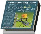 Jahreslosung 2019 - Notizblock mit Kalendarium