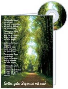 CD-Card: Gottes guter Segen - neutral