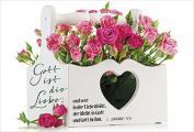 Faltkarte: Gott ist die Liebe - Neutral