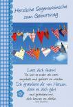 Faltkarte: Lass dich feiern - Geburtstag