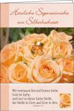 Faltkarte: Herzliche Segenswünsche zur Silberhochzeit