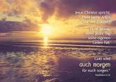 Postkarte: Jesus Christus spricht