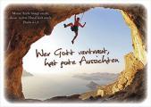 Postkarte: Wer Gott vertraut