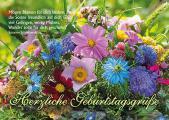 Postkarte: Herzliche Geburtstagsgrüße
