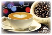 Coffee to send 'Ein kleiner Gruß'