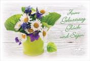 Coffee to send 'Zum Geburtstag Glück und Segen'