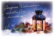 Coffee to send 'Gesegnete Weihnachten und alles Gute im neuen Jahr'