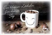 Coffee to send 'Ein kleines Lächeln für deinen Tag'