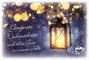 Coffee to send 'Gesegnete Weihnachten'