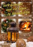 Gute Wünsche und viel Segen zu Weihnachten