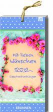 Mit lieben Wünschen - Geschenkanhänger-Block