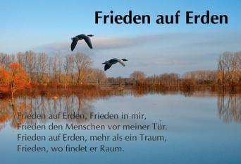 CD-Card: Frieden auf Erden