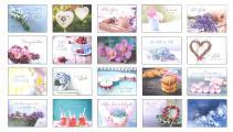 Herzenswünsche - Postkartenbuch