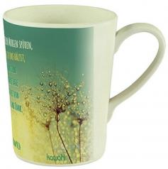 Tasse: Lass uns jeden Morgen spüren (Bambus)