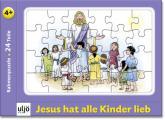 Rahmenpuzzle 'Jesus hat alle Kinder lieb'