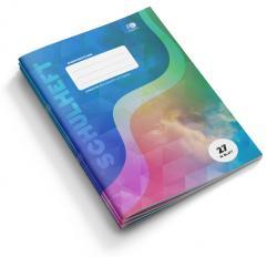 Evangelistisches Schulheft A4 Liniert mit Rand | Lineatur 27