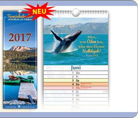 Kalender 2017 Hoffnung RUS